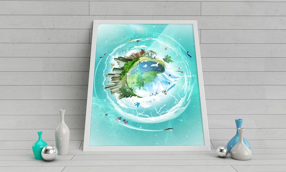 Free-Poster-Mockup-Studio